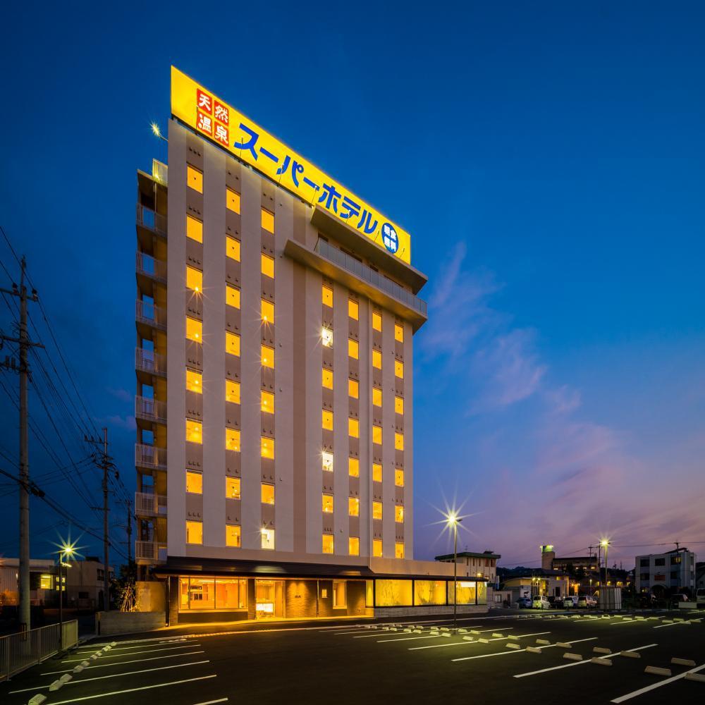 天然温泉「山鹿灯籠の湯」スーパーホテル熊本・山鹿(2017年7月1日オープン)