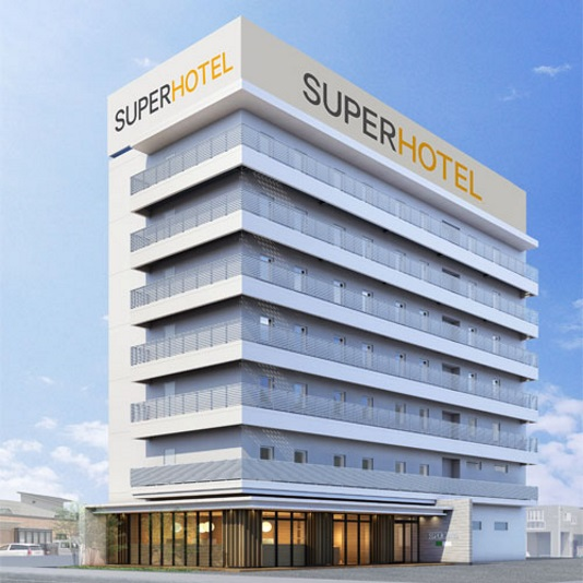 スーパーホテル山形・さくらんぼ東根駅前 天然温泉 桜桃の湯(2018年10月4日グランドオープン)