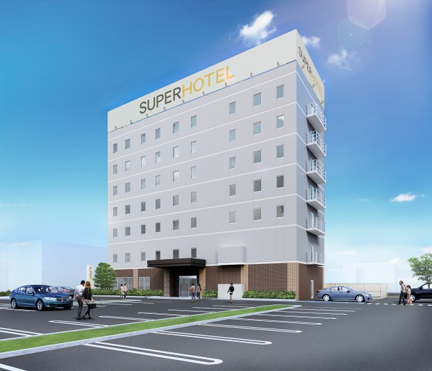 スーパーホテル浜松 天然温泉「浜松出世の湯」(2018年9月14日オープン)