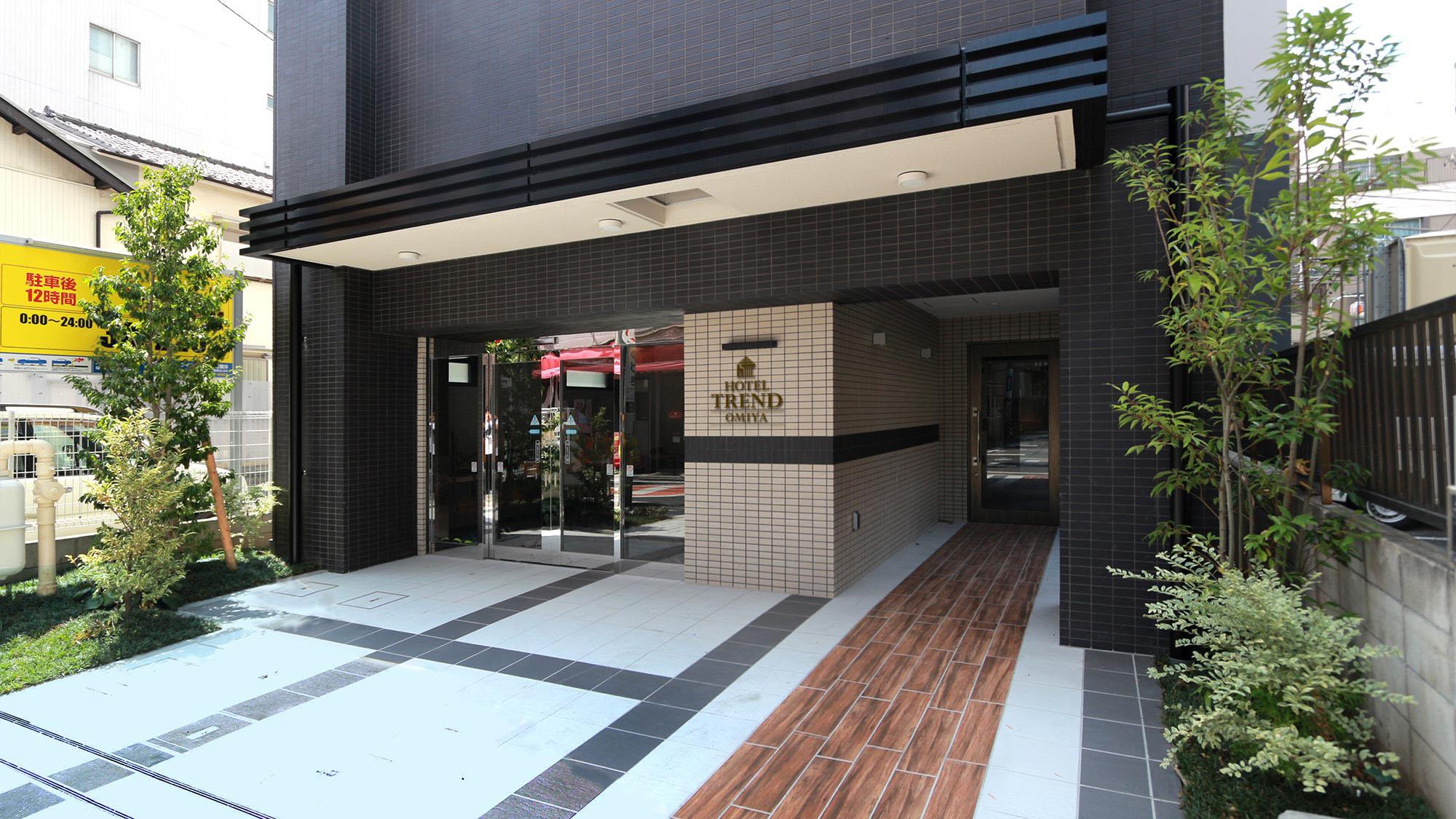 ホテルトレンド大宮(2020年10月2日新築オープン)