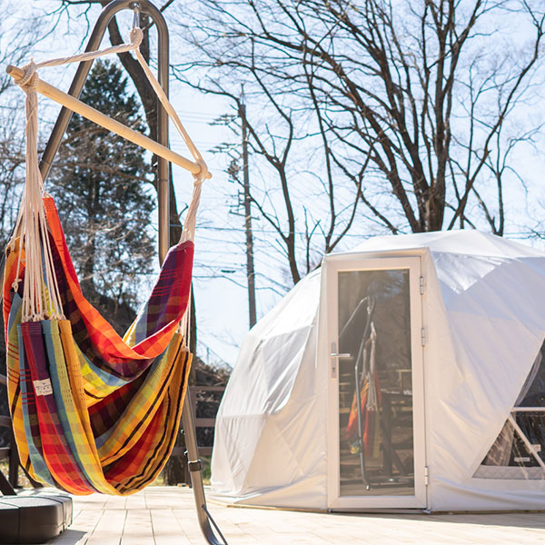 GLAMPINGBASE enCamp and 研修・合宿旅館 陽だまりの家