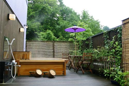 貸切露天風呂の宿 新潟・松之山温泉 山の森のホテル ふくずみ