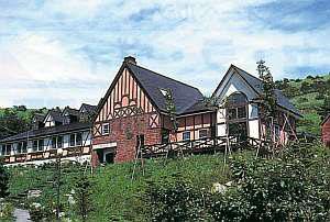 英国調の小さなホテル シェットランド