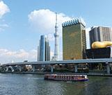 東京スカイツリーRと隅田川12橋めぐり