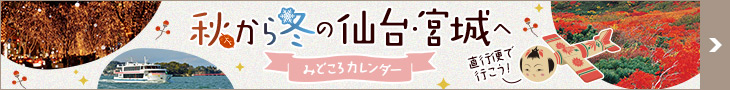 ★直行便で宮城・仙台に行こう!キャンペーン★