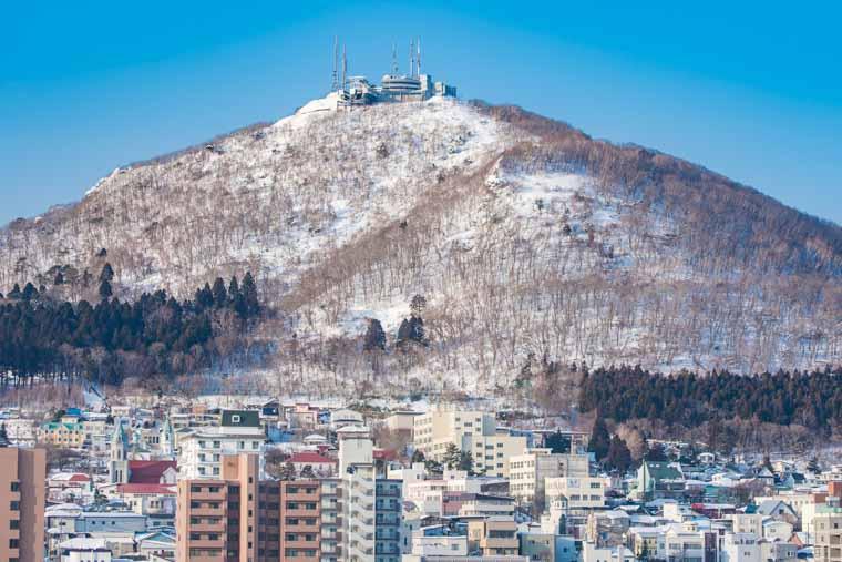 ロープウェイ 函館 山