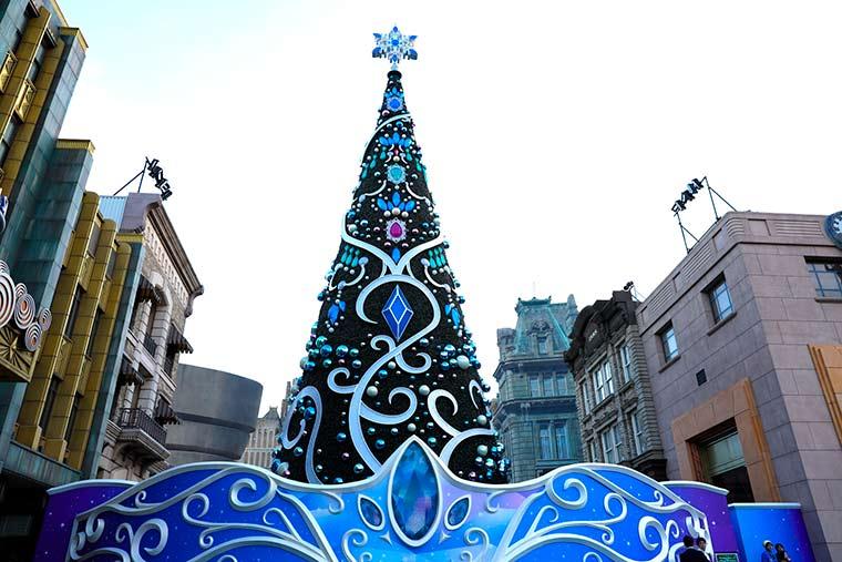 2020 ツリー ユニバ クリスマス USJクリスマスツリーの世界一とは?感想と評価や高さについて!USJへGO!