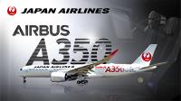 JAL国内線 最新鋭機エアバス A350就航