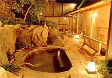 庭園の宿 石亭:お風呂