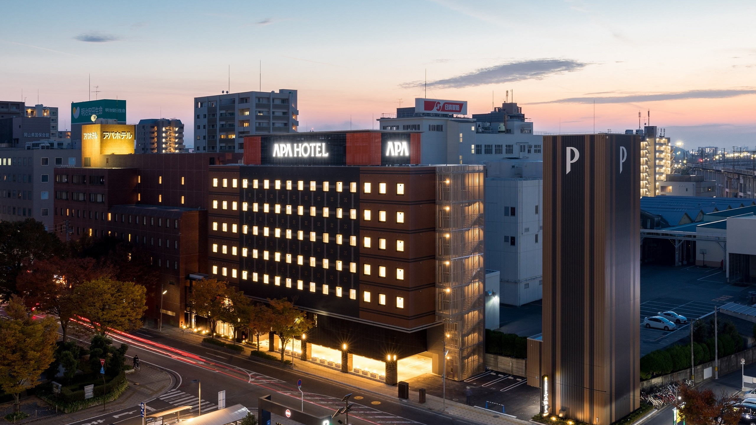 アパホテル 岡山駅東口◆楽天トラベル