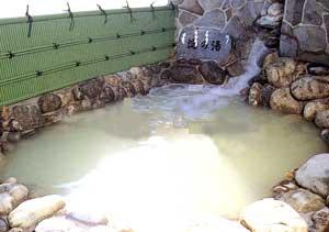 天然温泉露天風呂「淀の湯」