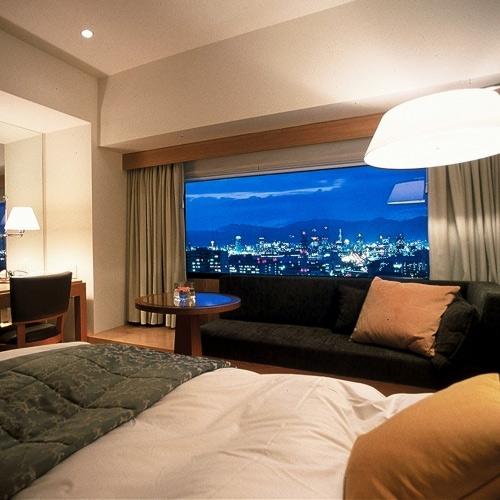 神戸ポートピアホテルの眺望、夜景