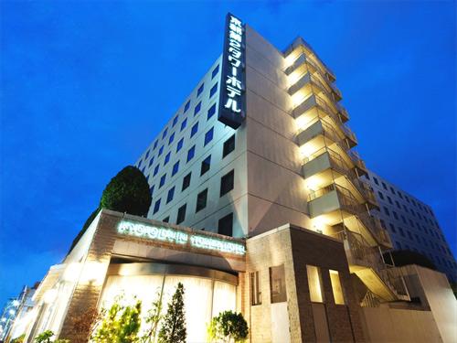 自転車の 京都駅周辺 貸自転車 : 京都第2タワーホテル 外観 ...