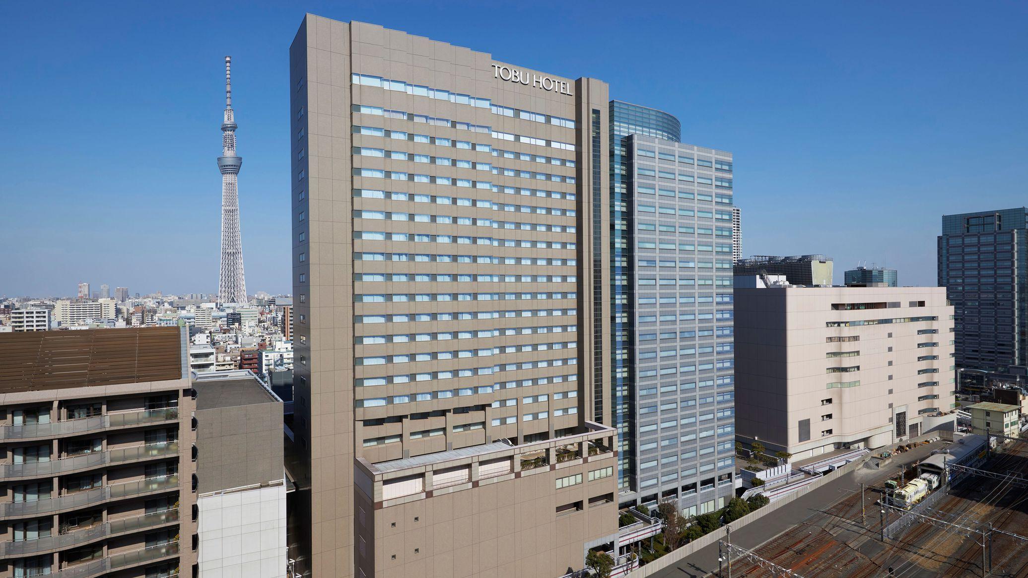 東武ホテルレバント東京(旧:東京マリオットホテル錦糸町東武)外観