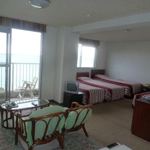 与論島パークホテルの部屋