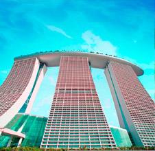 CMで一躍有名になったシンガポールの新しいランドマークホテル