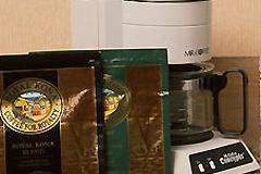 インルームでのコーヒーサービス
