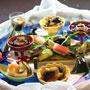 旬の素材を用い季節の風景を描き出す≪科野旬菜盛≫…料理人の技と粋が感じられる逸品